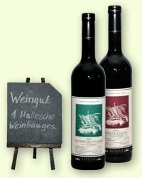 Weinsortiment Weingut Erste Hallesche Weinbaugesellschaft e.V.