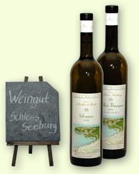 Weinsortiment Weingut Schloss Seeburg